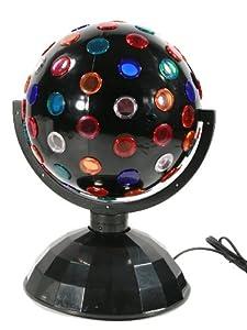 lampe disco boule disco multicolore tournante grand mod le hauteur 34cm cuisine. Black Bedroom Furniture Sets. Home Design Ideas