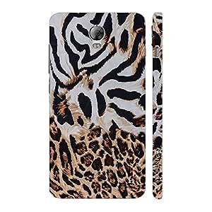 Enthopia Designer Hardshell Case Zebra Meets Cheetah Back Cover for Lenovo Vibe P1