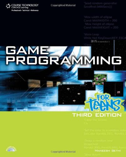 Game Programming for Teens, 3rd Edition