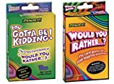 Would You Rather/You Gotta Be Kidding Card Game (Fun Pack) by Zobmondo [Toy]