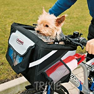 Trixie Bicycle Pet Carrier Front Box For Dog Puppy Bike