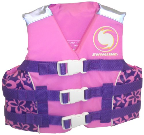 Swimline Ulu Kids Uscg Approved Life Vest - Girls-Large front-666289
