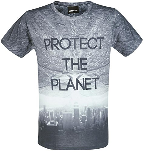 Independence Day Protect The Planet T-Shirt multicolore M