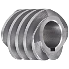 "Boston Gear D1618KLH Worm Gear, 14.5 Degree Pressure Angle, 0.750"" Bore, 10 Pitch, 1.25 PD, LH"