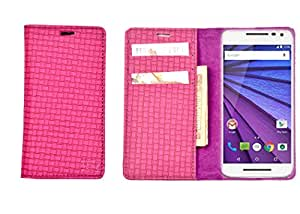 R&A Pu Leather Wallet Case Cover For InFocus M810