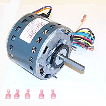 Oem upgraded ge 1 3 hp 115v furnace blower motor for Ge furnace blower motor