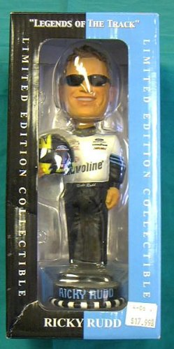 Ricky Rudd Legends of the Track Bobbing Head Figure