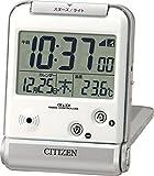 CITIZEN (シチズン) 電波 目覚し 時計 パルデジットベラR081 トラベルクロック 8RZ081-019