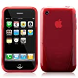 iSkin solo for iPhone 3G/Baron (translucent red)