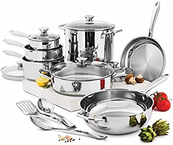 Wolfgang 15-Pc.Puck Cookware Set