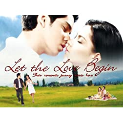 Let the Love Begin- Philippines Filipino Tagalog DVD Movie