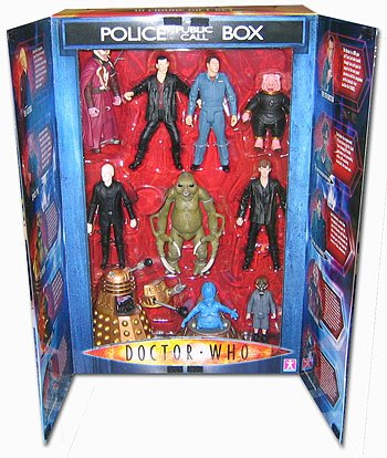 Doctor Who Series 110 Figure Set