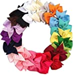 "20pcs 3"" Boutique Hair Bows Girls Kid..."