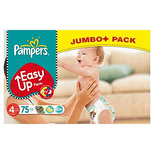 Pampers Easy Up Pants Size 4 Maxi 8-15Kg (75)