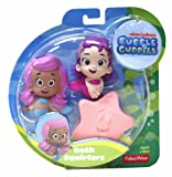 Fisher-Price Nickelodeon Bubble Guppies Molly, Oona, Starfish Bath Squirters