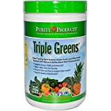 Purity Products - Triple Greens Powder - 364.8g/12.86oz [30 Servings]