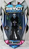 """FULL METAL"" JEFF HARDY - RINGSIDE COLLECTIBLES EXCLUSIVE TNA IMPACT TOY WRESTLING ACTION FIGURE"