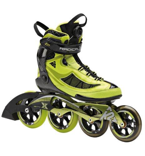 K2-Skate-Mens-Radical-X-Boa-Racing-Inline-Skates-LimeBlack-9