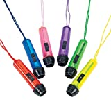 Plastic Transparent Flashlights On A Rope (12)