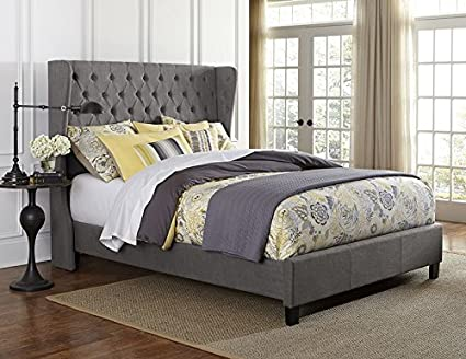 Crescent Bed Set - Rails Included