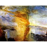 The Museum Store - The Burning Of The Houses Of Parliament, 16 October 1834 By William Turner - A Fine Art Print...