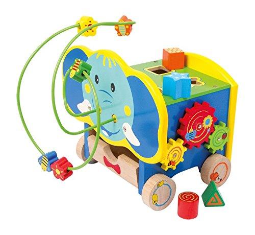 Small Foot Company - Motorikschleife Aktiv Elefant Motorikspielzeug