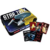 Collectible Special Edition Double Deck Star Trek Playing Cards Set With Tin