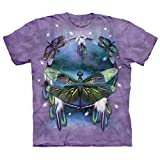 The Mountain Dragonfly Dreamcatcher Adult T-shirt