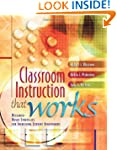 Classroom Instruction That Works: Res...