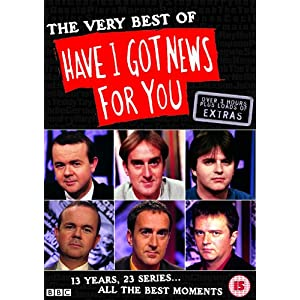 The Very Best Of Have I Got News For You [Import anglais]