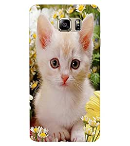 ColourCraft Cute Kitty Design Back Case Cover for SAMSUNG GALAXY NOTE 7 DUOS