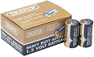 Draper 64249 C Size Heavy Duty Alkaline Batteries (Trade Pack of 12)