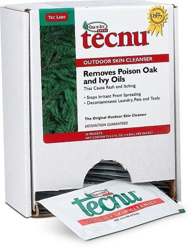 Image of Oak-n-Ivy® Tecnu® Cleanser - Box of 50 Packets