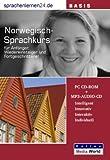 echange, troc Udo Gollub - Sprachenlernen24.de Norwegisch-Basis-Sprachkurs. PC CD-ROM für Windows/Linux/Mac OS X + MP3-Audio-CD für Computer /MP3-Player