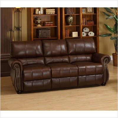 Houston Italian Leather Sofa