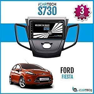 icartech 7 autoradio lettore dvd per ford fiesta forte. Black Bedroom Furniture Sets. Home Design Ideas