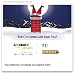 Get 5% cashback on purchase of any Christmas Amazon Email gift card