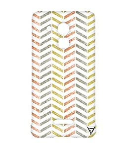Vogueshell Down Arrow Pattern Printed Symmetry PRO Series Hard Back Case for Coolpad Note 3 Plus