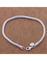 New Fashion Beautiful Silver Chain bracelet for Women,Teen Girls,Lady.Arrives in a pretty gift bag.