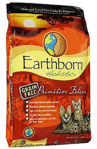 Image of Earthborn Grain Free Primitive Feline 14 lbs