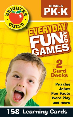 Everyday Fun and Games, Grades PK - K - 1