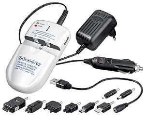 Pixo C2+ Chargeur universel de batterie pour Appareil photo