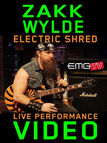 Zakk Wylde on Amazon Prime Instant Video UK