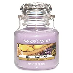 Lemon Lavender Small Jar Candle - Yankee Candle