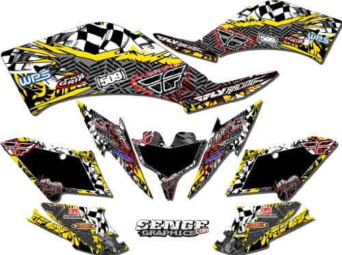 Senge Graphics All Years Suzuki LTR 450, Fly Yellow 2012 Graphics Kit (Ltr 450 Graphics compare prices)