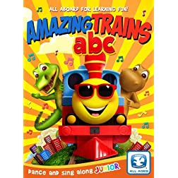 Amazing Trains Abcs