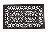 Kempf Rubber Scroll Doormat Rectangular