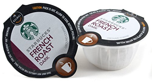 Starbucks Dark French Roast Coffee Keurig Vue Portion Pack, 96 Count (Vue Starbucks French Roast compare prices)