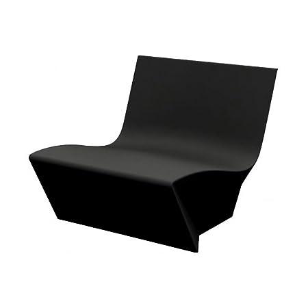 Slide Kami Ichi Poltrona Nero lucente