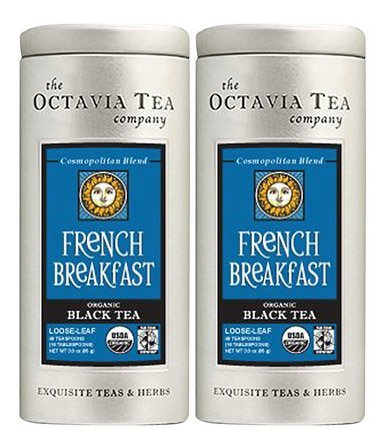 Octavia French Breakfast Organic Black Tea Loose